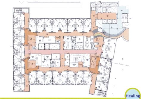 icu floor plan hospital expansion exterior