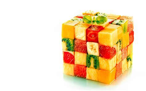 wallpaper colorful food creative 17 fruity cube 27november2014thursday