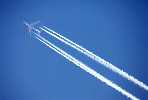 What Are Airplane Contrails Made Out Of Earth Com