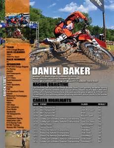 Motocross Sponsorship Resume by Racing Sponsorship Cover Letter