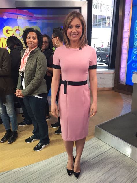 good morning america ginger zee dress 17 best images about name that chick i on pinterest