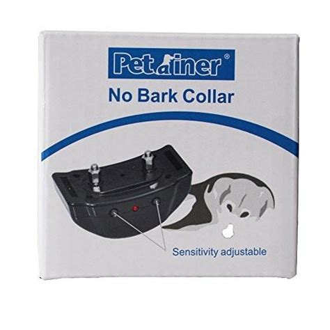 bark collar for large dogs anti bark collar large breeds pettainer