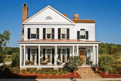 17 House Plans With Porches Southern Living Southern Style House Plans With Columns