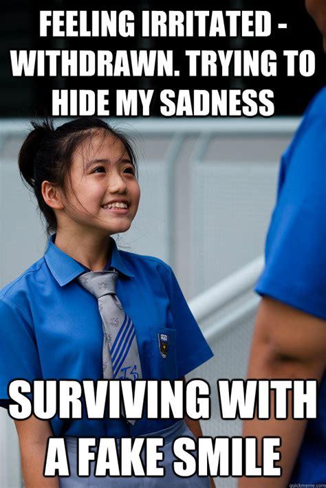 Vanessa Meme - fake smile vanessa memes quickmeme
