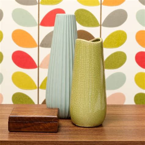 Orla Kiely Vases by Mix And Match Modern Vases Bright Bedroom Ideas