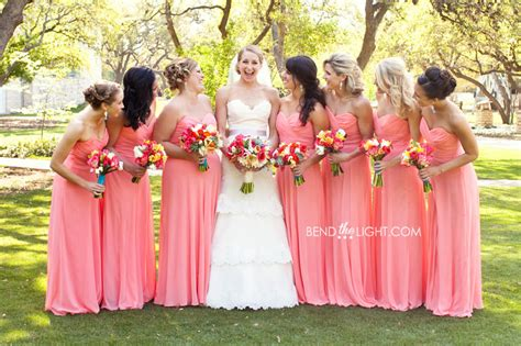 Coral Bridesmaid Dress by Coral Bridesmaid Dresses Expressing Understated Elegance
