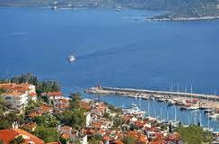 porto della turchia porto della citt 224 kas kash in turchia immagine stock