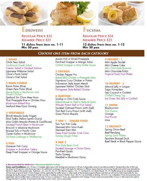 best new year menu singapore orange clove new year menu 28 images orange with