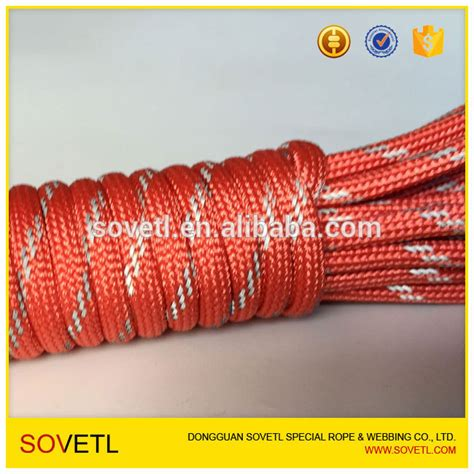 kevlar curtains polyester cord polyester double braided rope for outdoor