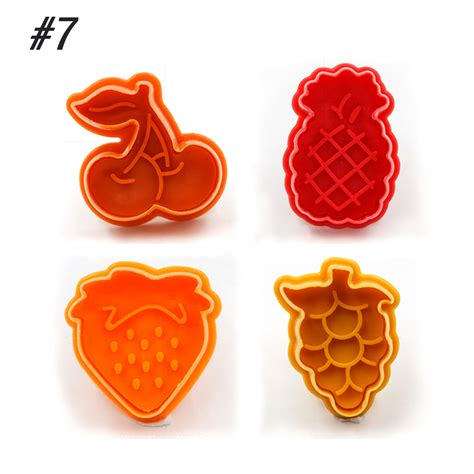 Diskon 3d Biscuit Mold Cookie Cutter Press sugarcraft cake mould style cookie