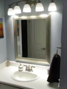 bathroom mirror and lighting ideas where to use par 20 led lightbulbs in the bathroom