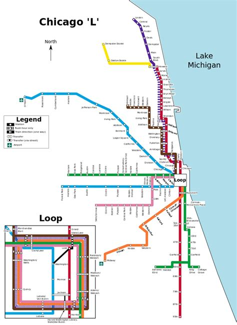 chicago map cta file chicago l map svg
