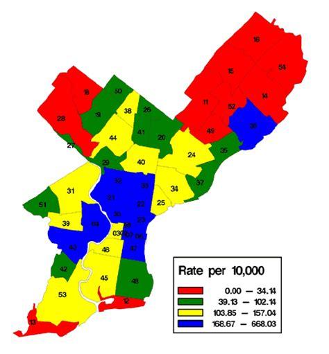 zip code map of philadelphia cfar echpp penn center for aids research