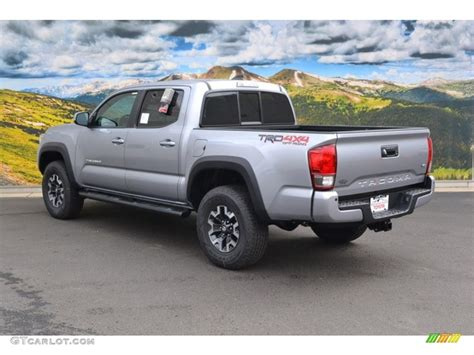 toyota tacoma silver image gallery 2016 tacoma silver