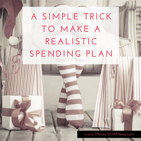 Simple Trick To Make Your - a simple trick to make a realistic budget