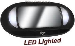 Vanity Lights Clip On New Lighted Black Clip On Sun Visor Vanity Mirror For