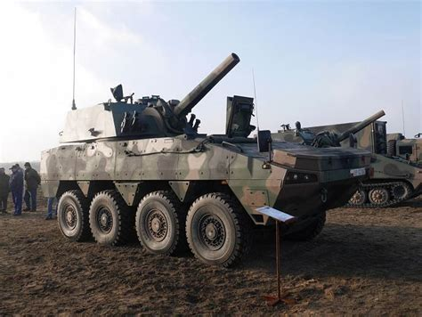 Resita Leopard rak 120mm 8x8 self propelled carrier armoured vehicle
