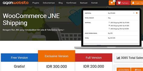 membuat plugin jne wordpress ulasan plugin jne woocommerce shipping versi berbayar