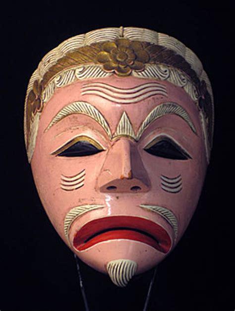 Masker Java bali java masks of the world