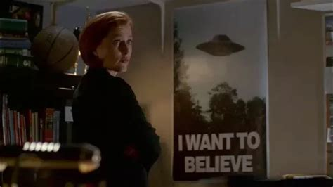 Vcd Original The X Files And I Want To Believe what is the origin of the i want to believe poster from the x files quora