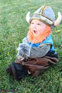 5 Month Baby Halloween Costumes Viking Baby Boy Costume Photo 2 5