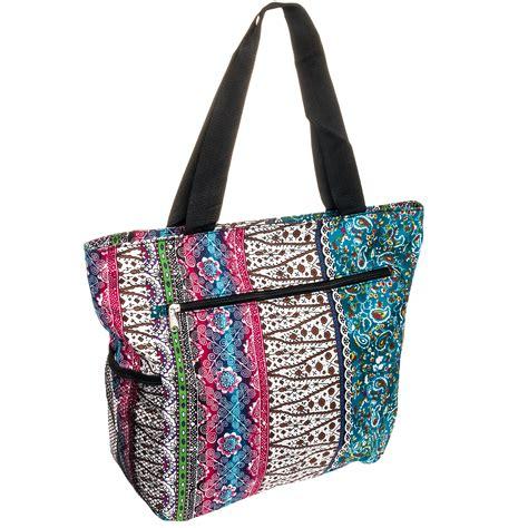 Patchwork Tote Bag - silverhooks new womens boho patchwork tote bag ebay