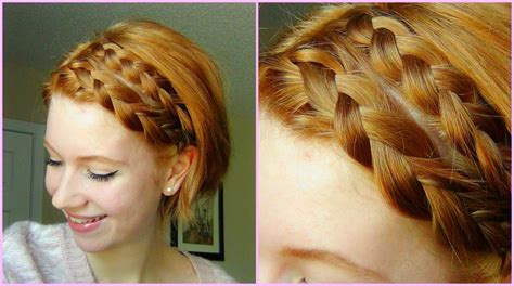 how to braid short hair 21 braided hairstyles for all kinds of tresses