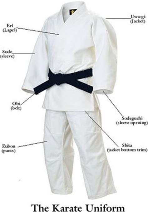 Baju Karate Kata Hokido okinawan fighting quot ti quot the karate gi and obi wearing them etc