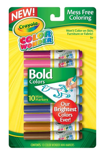 color crayola crayola bold color mini markers toys