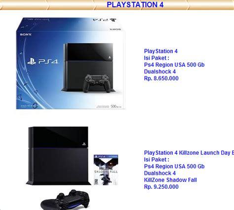 Kaset Ps4 Killzone Shadow Fall jakartagamers ini dia harga ps4 di indonesia saat ini