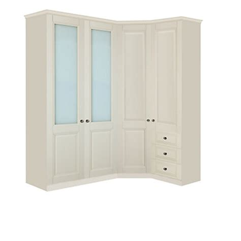 Wardrobes Homebase by Schreiber Traditional Wardrobe Cornice Oak