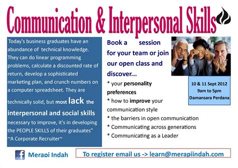 communication and interpersonal skills merapi indah