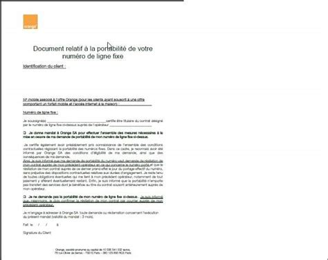 Lettre De Resiliation Orange Et Mobile Probl 232 Me Resiliation Num 233 Ricable Suite 224 Changement Pour Orange