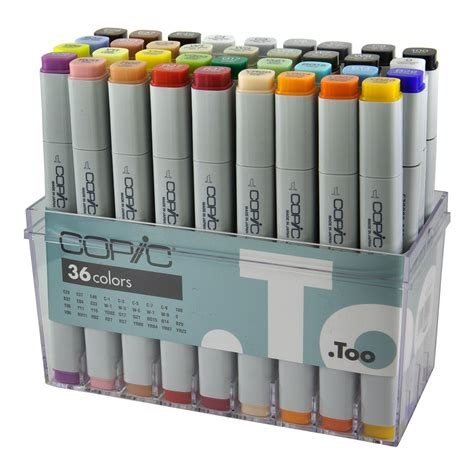 Copic Marker 36 By Polkapolca by Copic Classic Marker 36 Set Basic Spraydaily
