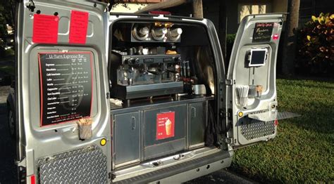 Florida Home Interiors Custom Coffee Van For Sale Reduced To 49 999 Ford