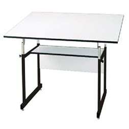 Alvin Workmaster Jr 4 Post Drafting Table 31 Quot X 42 Quot Top Alvin Workmaster Drafting Table