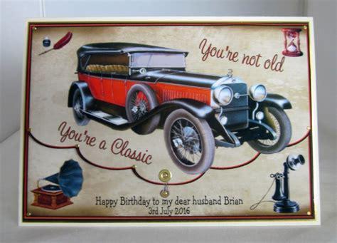 Classic Car Birthday Cards
