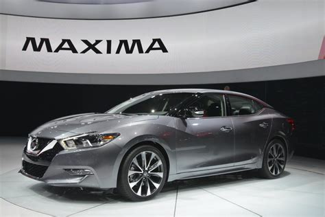 2016 Nissan Maxima Unveiled Motor Exclusive