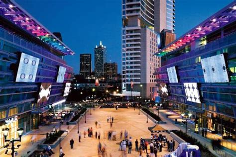 dallas light district entertainment districts blocks where no one has
