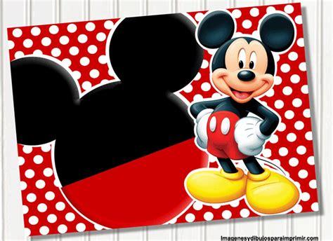 imagenes cumpleaños de mickey mouse cumplea 241 os de mickey mouse invitaci 243 n imagui