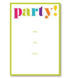 Flag Desk Party Invitations