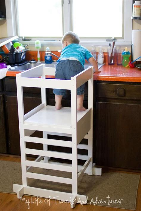 Diy Toddler Step Stool by Kitchen Helper Toddler Step Stool Kitchen Helper