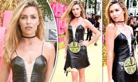 Partysugar The Bash Fabs Fabulous by Ab Fab Premiere Clancy Turns Heads As She