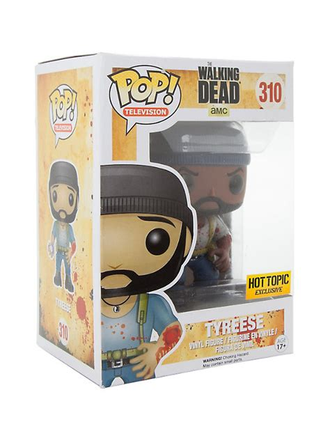 Funko Pop Vinyl Figure Topic Exclusive funko the walking dead pop television tyreese bitten arm vinyl figure topic exclusive