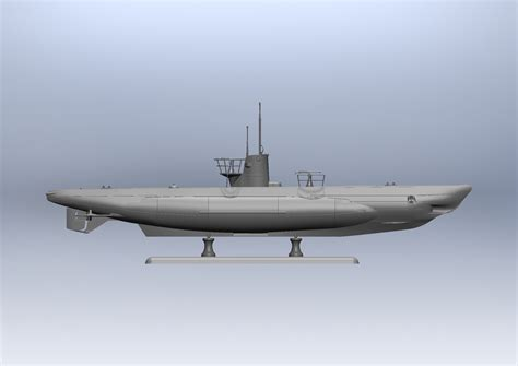 u boat kit u boat type iib 1943 german submarine 187 icm holding