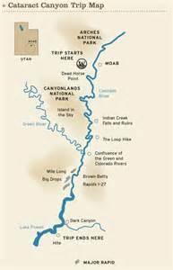 colorado river rafting map moab maps 187 cataract map colorado river
