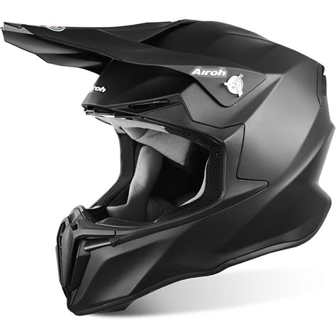 flat black motocross airoh new mx 2017 twist matte black motocross dirt bike