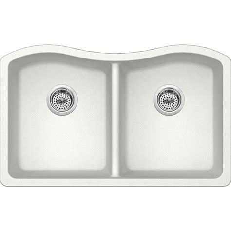 kitchen sink company ipt sink company undermount granite composite 33 in 50 50