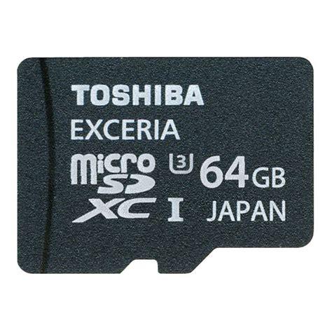 Toshiba Exceria Microsdhcxc Uhs I Class 10 U3 90mbs 128gb 64 gb toshiba exceria microsdxc class 10 uhs i u3 retail