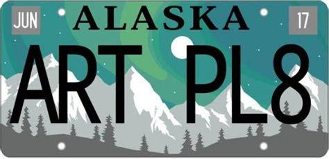 design graphics palmer alaska uaa graphic design student wins artistic license plate
